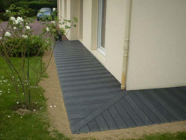 Poser Une Terrasse En Lames Composites